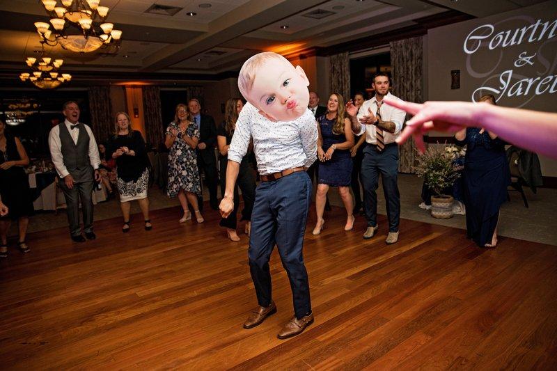 Wedding Guests Baby Mask 5-Maryland