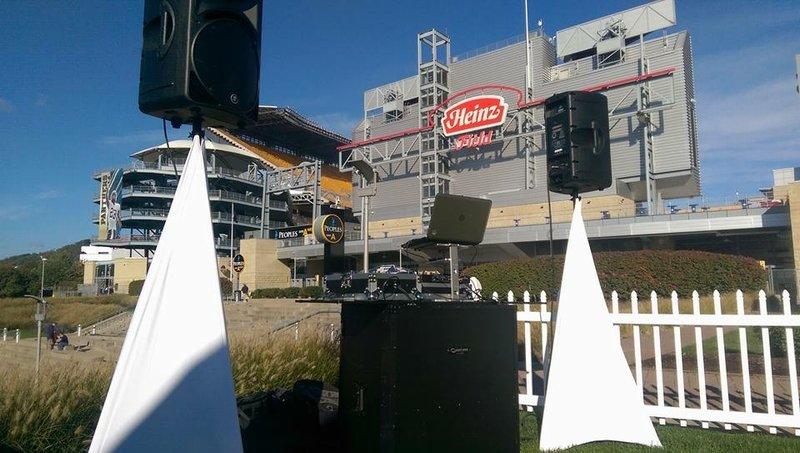 DJ Set Up Heinz Field